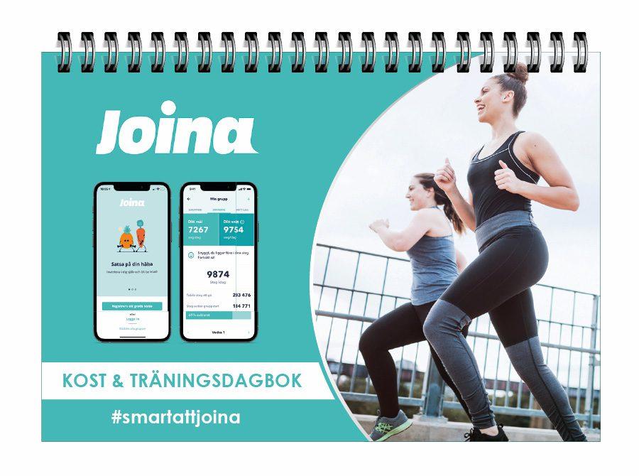 Joina Kost & träningsdagbok omslag